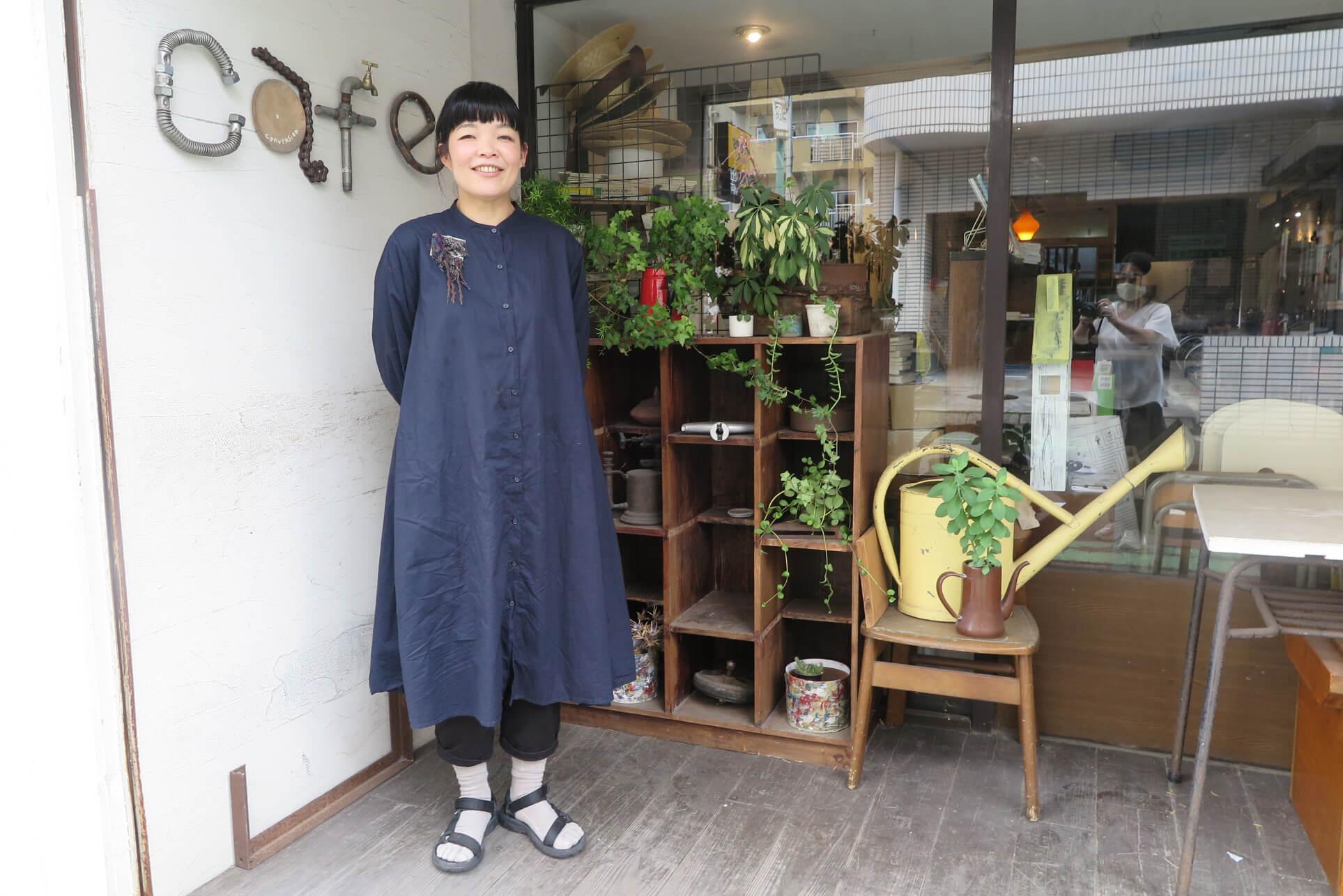 ローカルWEBメディア・地域サイト 草加ローカルストーリー 今井 慶子さん cafe gallery conversion