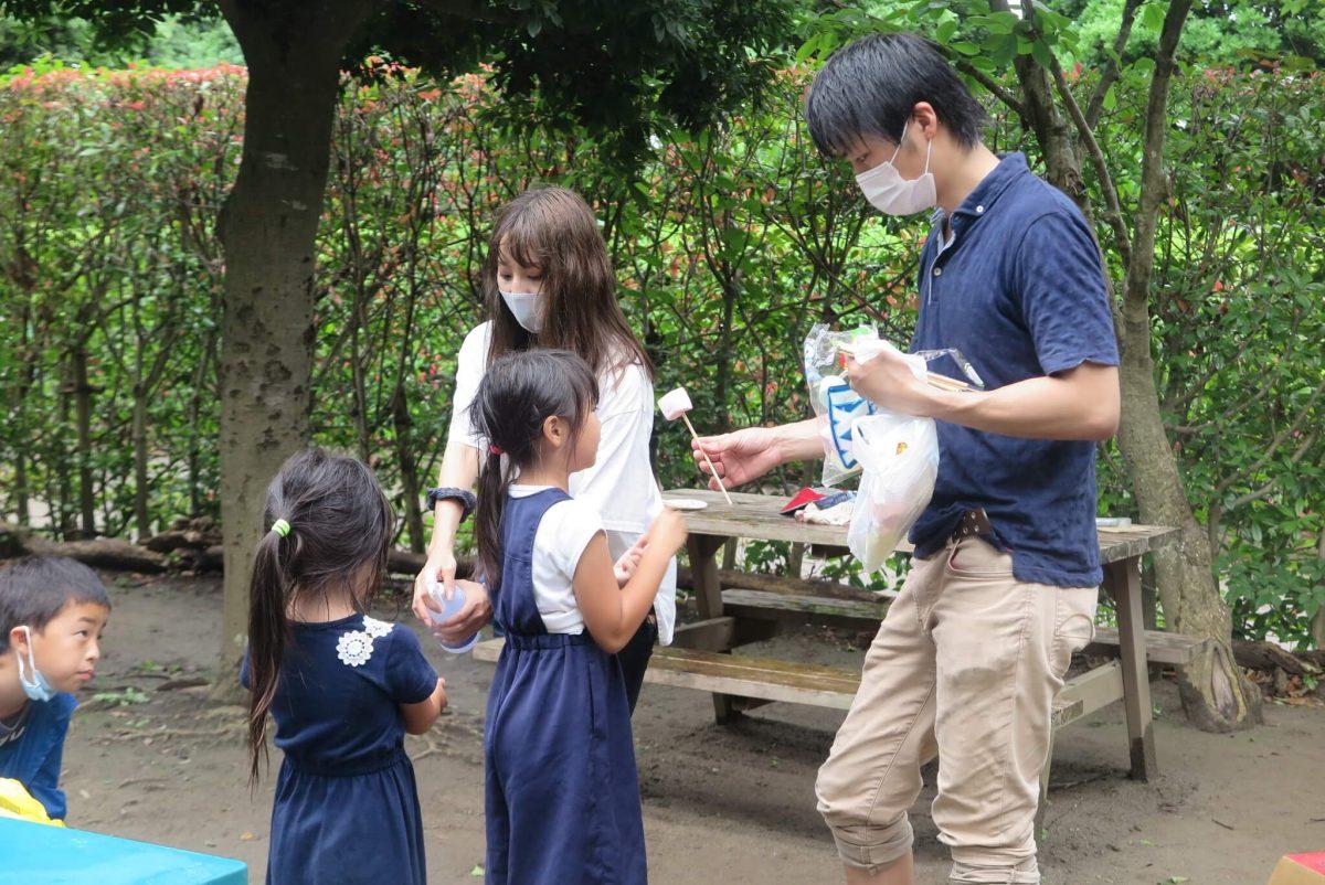 ローカルWEBメディア・地域サイト 草加ローカルストーリー 安高昌輝さん 子ども会BBQ写真